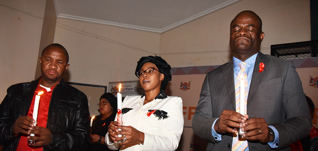 International Candlelight Memorial Thembelihle Adult Centre, Upington