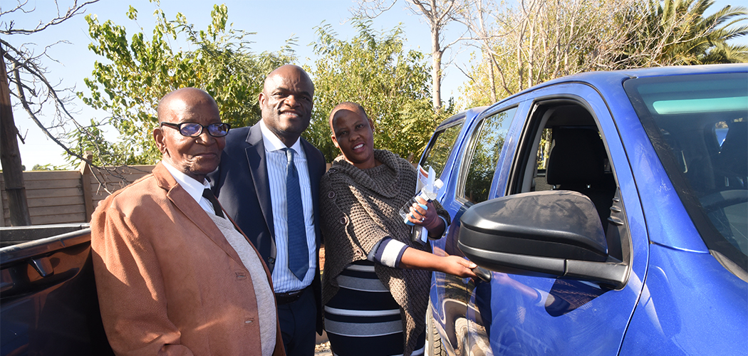 Handing Over of Vehicles to Northern Cape Traditional Leaders